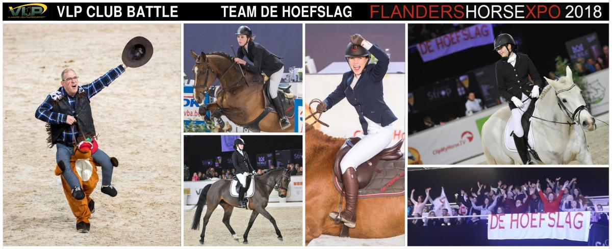 VLP Club Battle - Team De Hoefslag 2017-2018